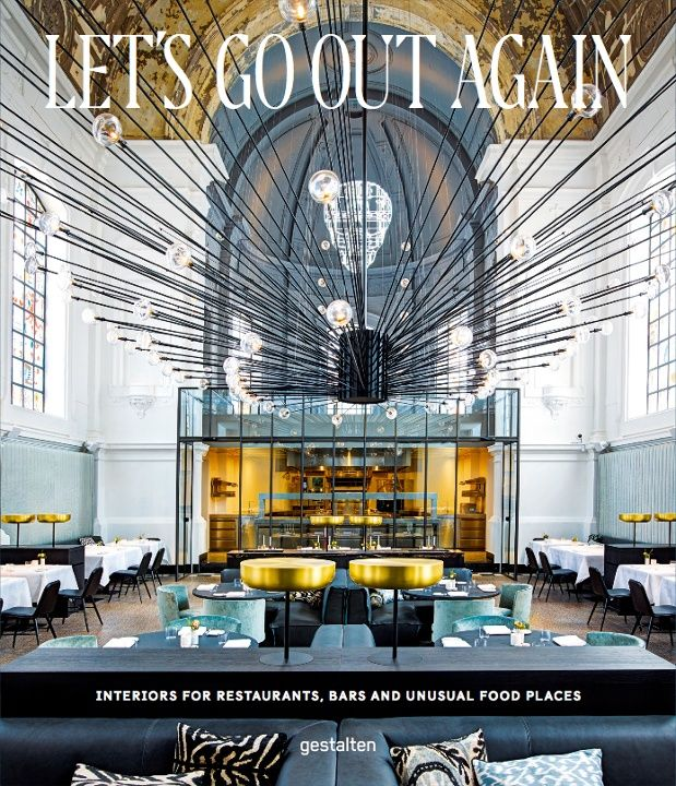 From a modern diner in an old chapel to a white-washed cabinet of curiosities decorated with 10,000 animal bones, Gestalten's new book, Let's Go Out Again, features some of the most unusual and spectacular restaurant interiors around the world. We've picked 10 of the most impressive