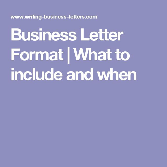 25+ bästa Business letter format idéerna på Pinterest Engelsk - sample business letters format