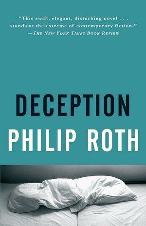 Deception, Philip Roth