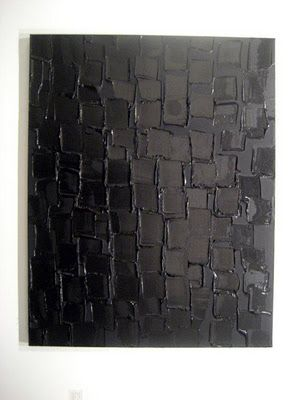 Pierre Soulages acrylic on canvas