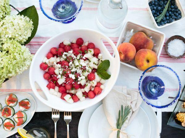 Sweet Summer Supper: Al Fresco Dinner Party // Photo credit This Wild Season // Twin Stripe Blog