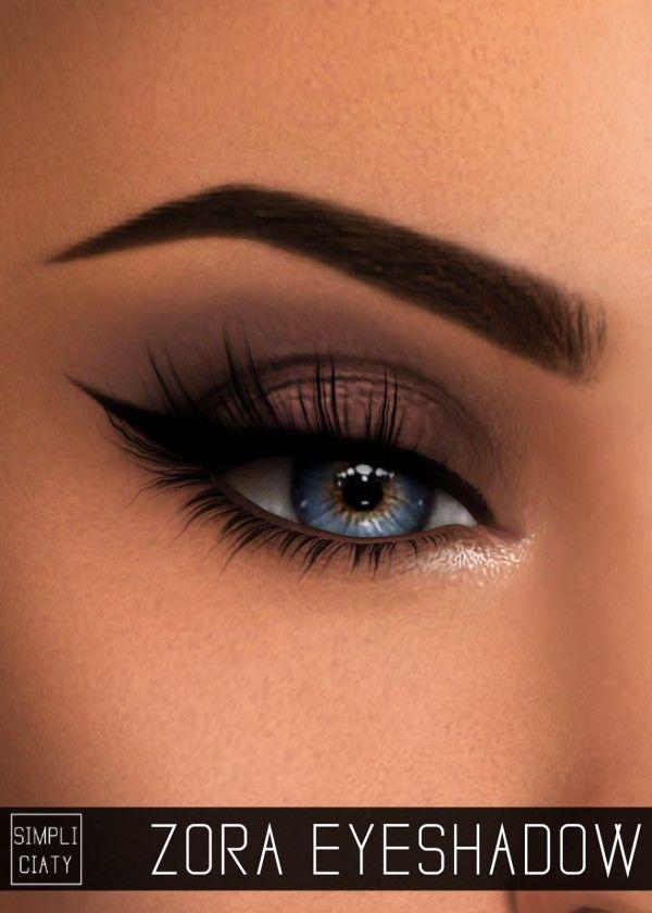 Simpliciaty: Zora eyeshadow • Sims 4 Downloads