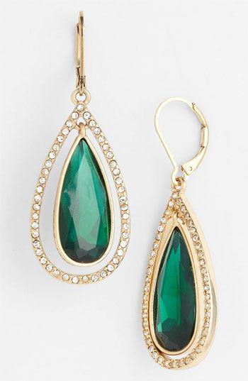 Anne Klein 'Bruma' Teardrop Earrings available at #Nordstrom