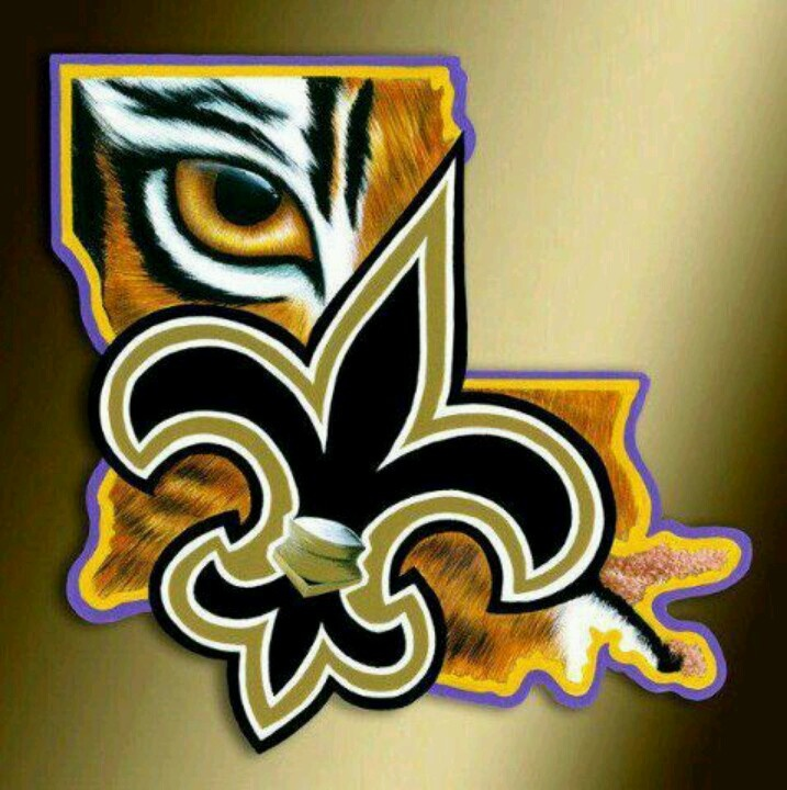 LSUAndSaintsWallpaper LSU And Saints Win Geaux Tigers