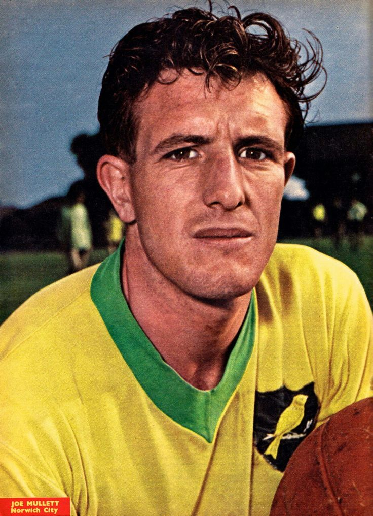 Joe Mullet of Norwich City in 1960.