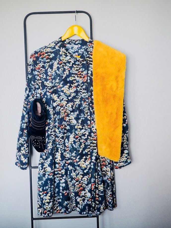 Vestido azul stradivarius jumpsuits