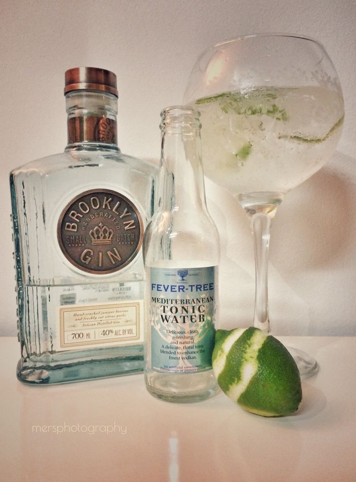 Gin Tonic Time!  Brooklyn Gin - A Take On Gin From The Big Apple.