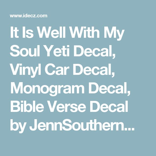 Best Rtic Tumbler Decals Images On Pinterest - Bible verse custom vinyl decals for car