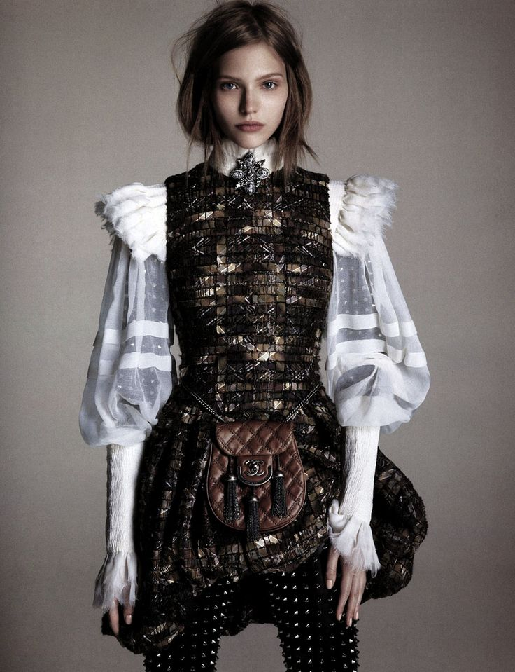 Sasha Luss By Luigi And Daniele + Iango For Vogue Japan |       View Post