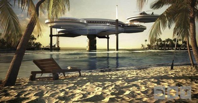 Discus, a new underwater hotel in Dubai...for the future: Discus Underwater, Deep Ocean, Waterdiscus, Dubai Underwater, Underwater Hotels, Ocean Technology, Hotels In Dubai, Water Discus, Discus Hotels