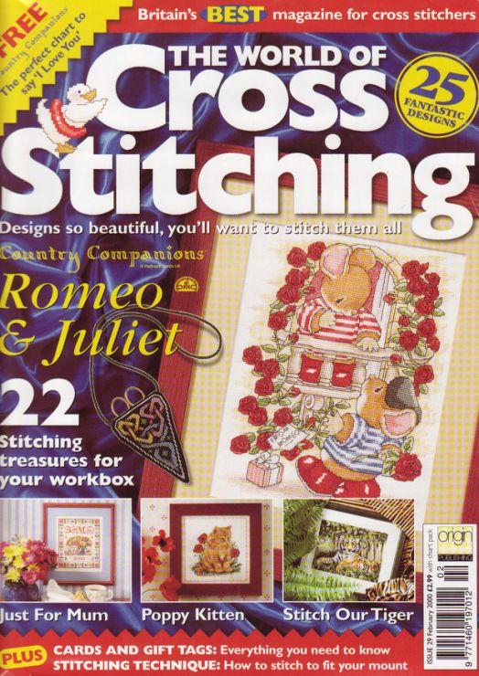 Gallery.ru / Фото #1 - The world of cross stitching 029 февраль 2000 - WhiteAngel