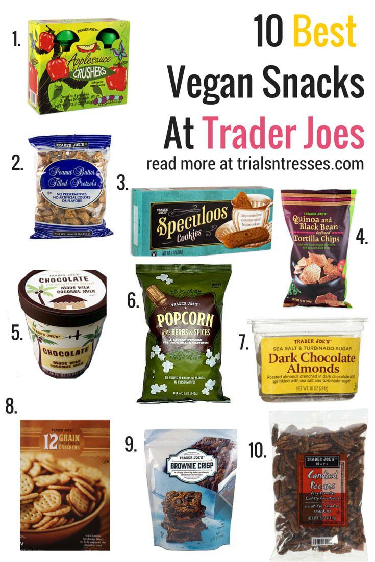 Best Vegan Snacks From Trader Joes Best vegan snacks