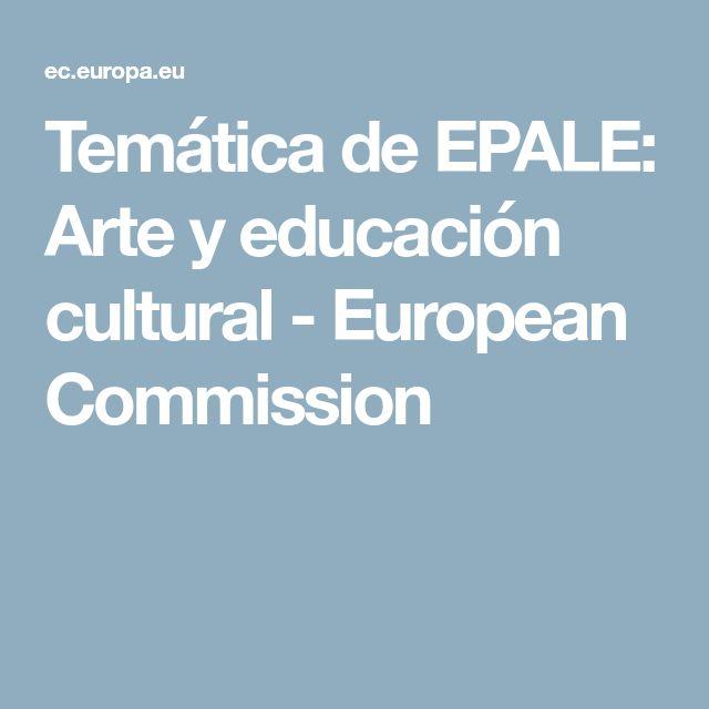 Temática de EPALE: Arte y educación cultural - European Commission