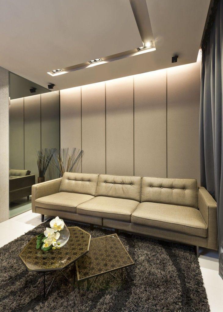 77 Livia, Traditional Condominium Interior Design, Living Room.