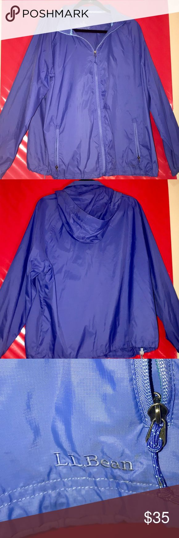 L.L. Bean Raincoat Super cute color, can be for guy or girl, and perfect with black shorts or black leggings. L.L. Bean Jackets & Coats Raincoats