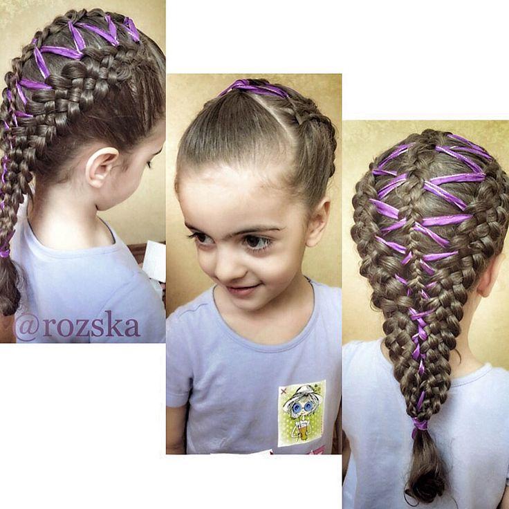 Прически из кос, косы с лентами, braid for girls   #Косы, #косыдлядевочек, #hair, #hairstyleforgirls, #braidsforgirls #schoolhairstyle #плетениекос #прическившколу #КОСЫВШКОЛУ #lovebraids #французскаякоса #ПРИЧЕСКИИЗКОС #косыслентами