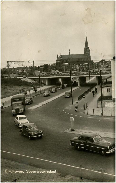 Boschdijktunnel, noordelijke richting. Onderdeel Hoogspoorproject - RHCe : Hagens, G.L. - 1954