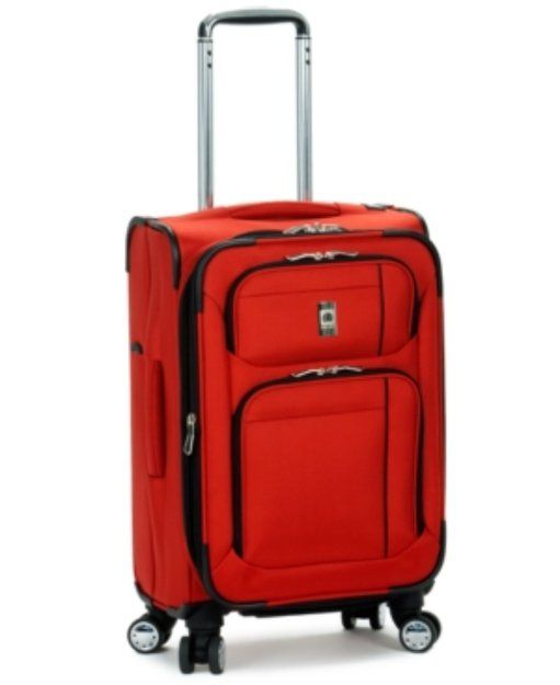 """Delsey Suitcase, 21"""" Helium Breeze 4.0 Rolling Expandable Carry On Spinner Suiter Upright"""