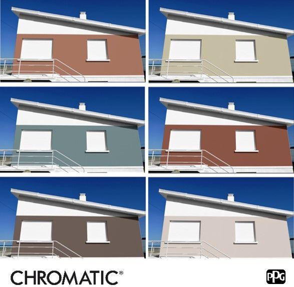 Epingle Par A T H Plast Sur Deco Maison Couleurs De Peinture Exterieure Couleur Facade Maison Peinture Facade Exterieure