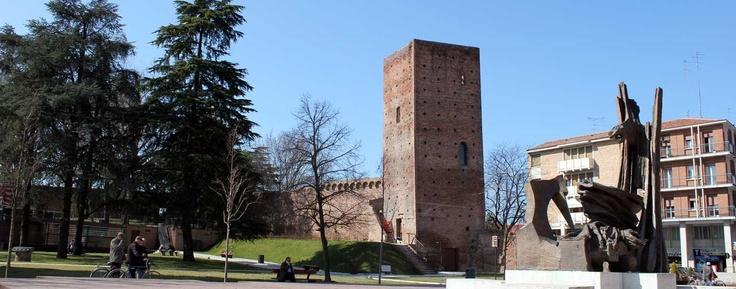 City tower Torre Donà - Rovigo, Italy. ©ZAINOO | www.zainoo.com | #Veneto #Italia #Venetien #Italien