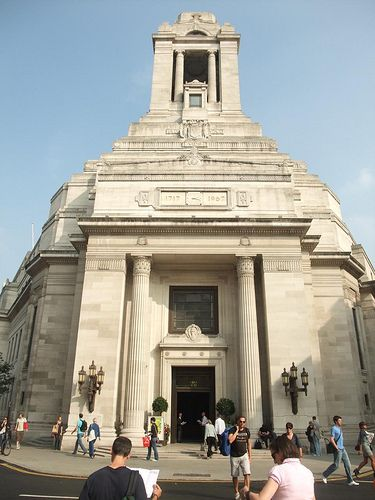 Freemasons' Hall, Queen St, Covent Garden. SPECTACULAR building they do daily tours too!
