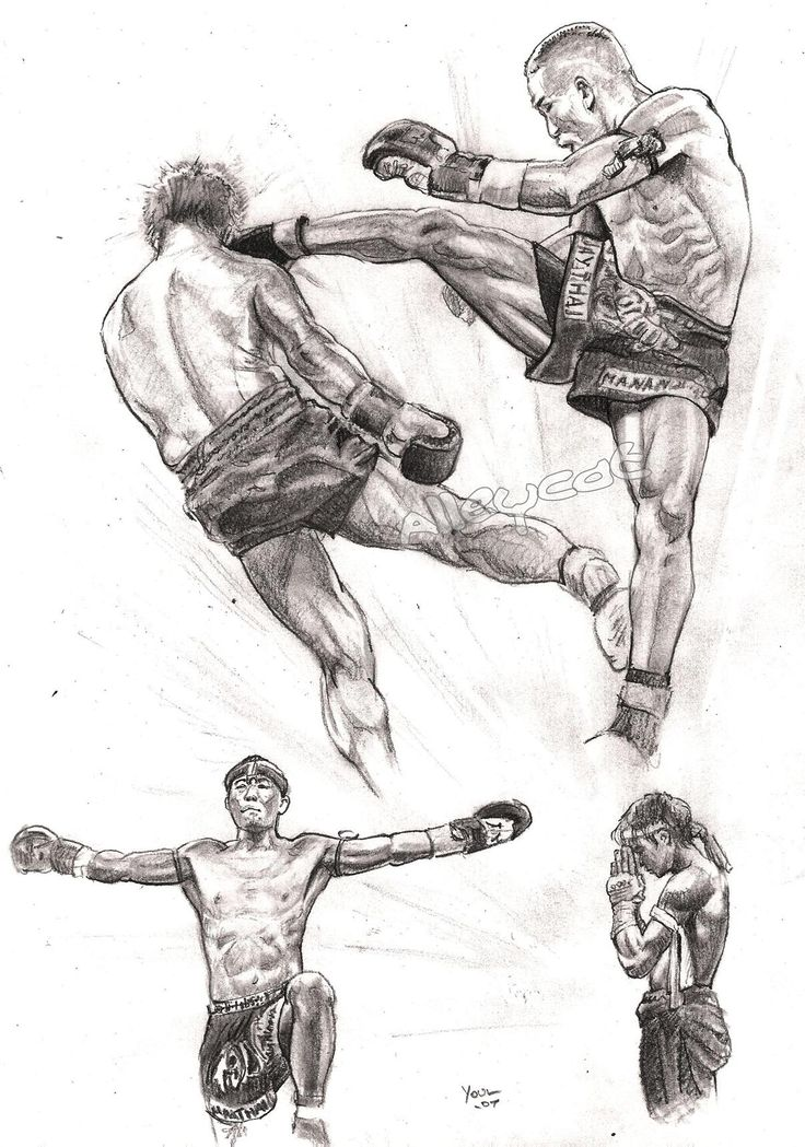 Muay Thai Boxing What is Muay Thai Boxing  The definition of boxing is an exchange of blows. It is a form of combat practiced by people everywhere  by children and adults, male and female.  The combatants may bite, kick, punch, grasp, headbutt all of these are considered part of Thai Boxing. It is all fighting with the weapons which human beings are naturally endowed.