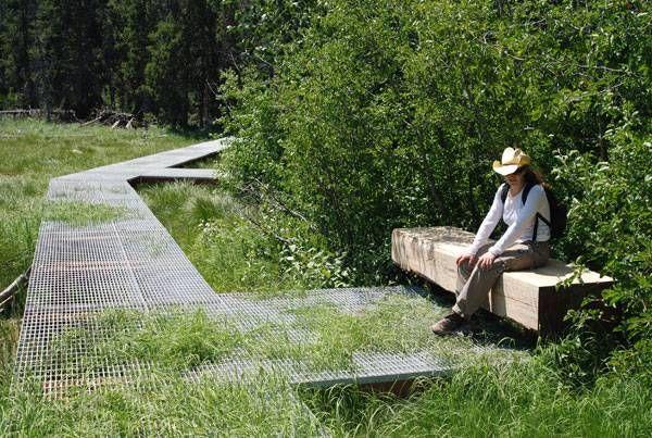 Laurance S. Rockefeller Preserve, Hershberger Design, Grand Teton National Park.
