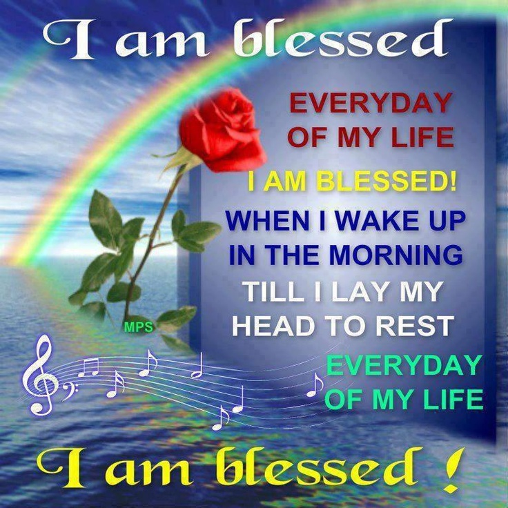 i am blessed quotes - photo #1