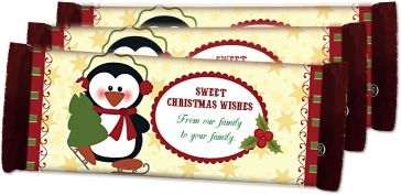 Make your own personalized candy bar wrappers-  the 12 Days of Christmas Free Printables, 2013.