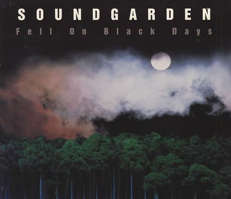 """For Sale - Soundgarden Fell On Black Days USA Promo  CD single (CD5 / 5"""") - See this and 250,000 other rare & vintage vinyl records, singles, LPs & CDs at http://eil.com"""
