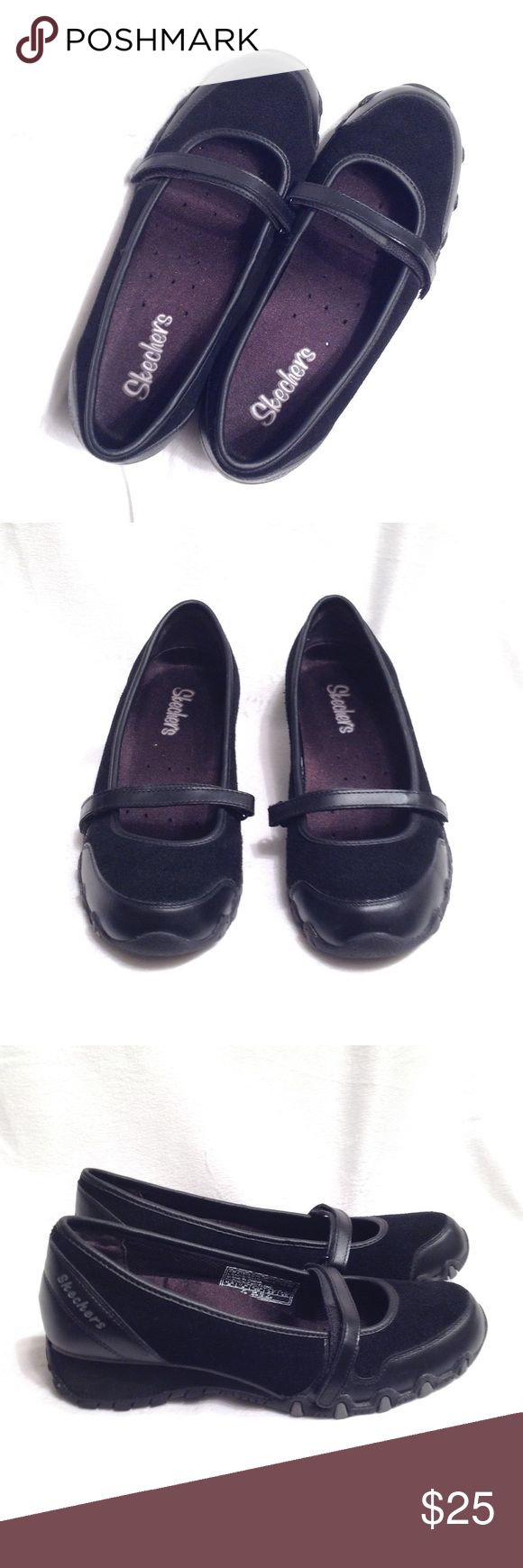 Skechers black shoes New without box. Price is firm Skechers Shoes