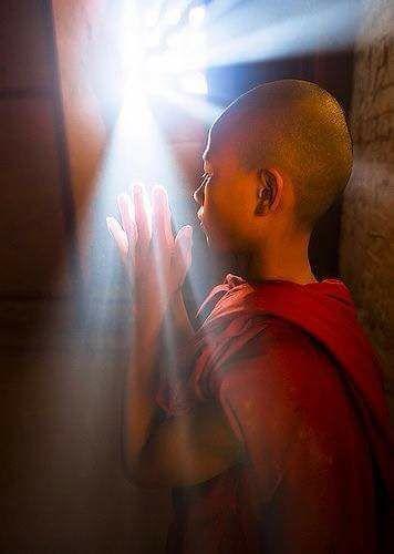 Tibet. Inside Monastery . Thuk Je Che Tibet
