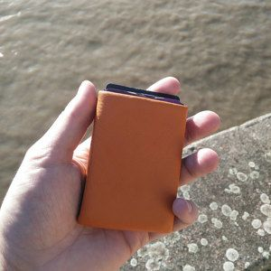 Minimalist Leather Wallet Full or 41 RFID by NeroWallet on Etsy