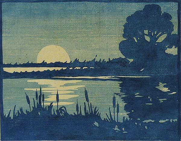 473 Best Images About Moku Hanga Woodcut On Pinterest