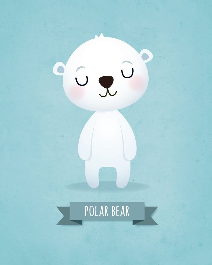 Kids art prints Set of bears by IreneGoughPrints on Etsy