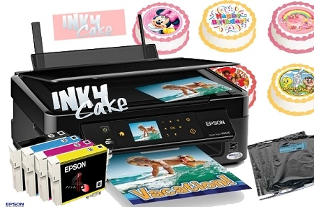 Edible Cake Decorations Printer : Epson X30 Wireless All in One EDIBLE!! Printer Kit Stuff ...