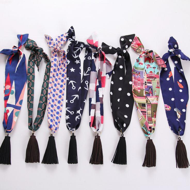>> Click to Buy << Women Neck Tie tassel Bow Ties for Gravata Narrow Professional Uniform Neckties Female College Student Bank Hotel Staff 90*5cm #Affiliate