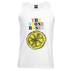 Stone Roses Men's Tee: Multicolour Lemon -