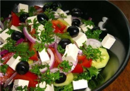 Классический рецепт греческого салата