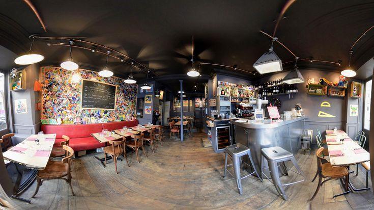 Chez Les Fils à Maman, vos papilles nostalgiques vont être comblées. Installé au pied de Montmartre, ce restaurant convivial, d&eacut