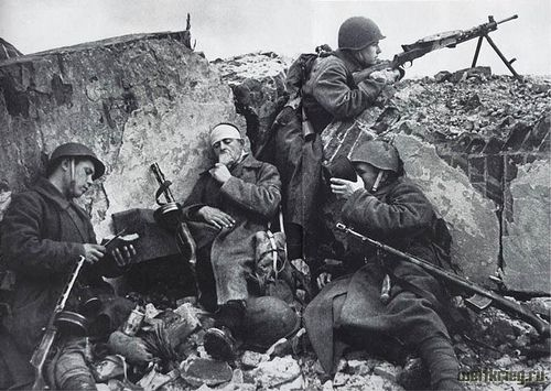 Soviet Army in ww2.