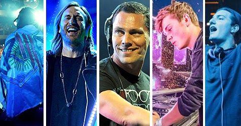 レイブ音楽で人気なEDM。AviciiやCalvin Harris、ZEDDなど。