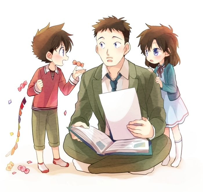 Nakamori, Kaito, and Aoko by Akiyoshi