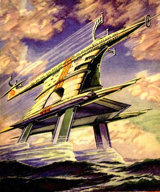 Retro-Future: Mind-Boggling Transportation | Retro futurism | Retro
