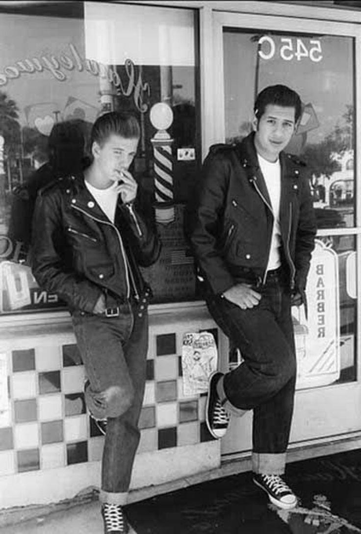 Männer rockabilly outfit für 60er Jahre