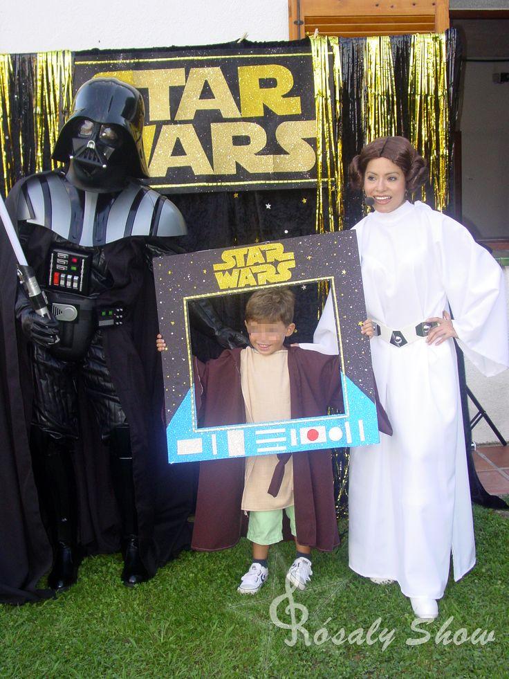 Photocall Star Wars. Animación con La Princesa Leia y Darth Vader. Eventos a…