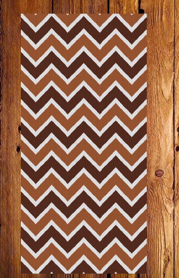 patron punto cruz alfombra armona para bordar con lanas puntos de ancho