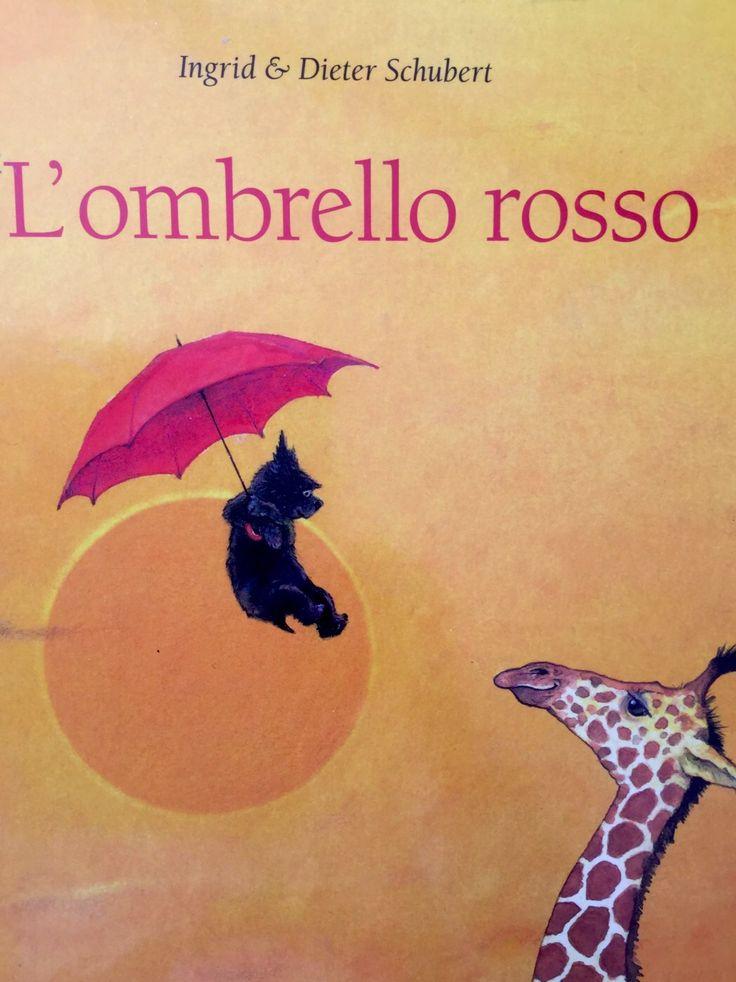 L'ombrello rosso - Un silent book che accompagna il lettore in un viaggio intorno al mondo, appeso ad un ombrello. Splendide illustrazioni, un libro per sognare. http://gallinevolanti.com/lombrello-rosso/