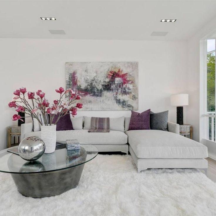 51 Modern Minimalist Living Room Decor Ideas White Contemporary Living Room Living Room Decor Neutral Living Room Decor Modern