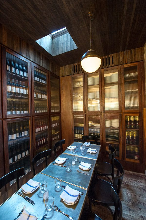 Estela, NYC. Funky, old-world wine list, buzzy atmosphere, and—above all—the minimalist small plates created by chef Ignacio Mattos.